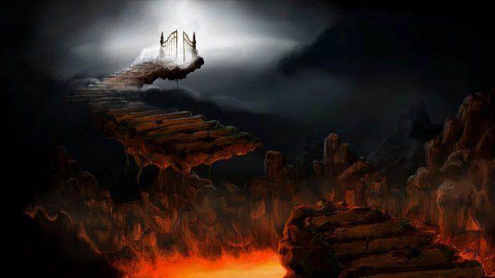 gambaran surga dan neraka